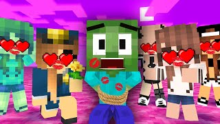 MONSTER SCHOOL : POOR BABY LOVE CURSE CHALLENGE ALL EPISODES - SAD STORY MINECRAFT ANIMATION