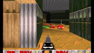 DOOM 1 Gameplay - Nightmare!