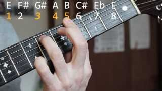 Blues Guitar Songs - Born and Living with the Blues - Brownie McGhee Guitar Lesson