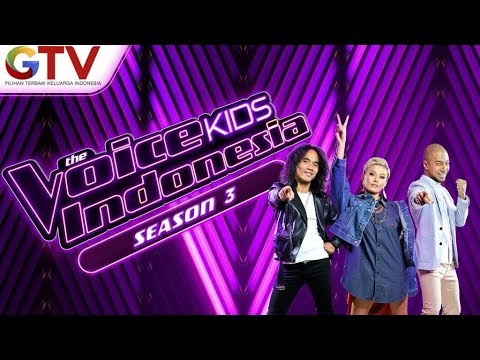 AGNEZ MO, Kaka Slank, Marcell Siahaan - The Voice Kids Indonesia 2018