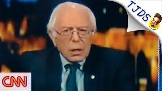 Did CNN Cut Bernie Sanders' Mic For Calling CNN Fake News?