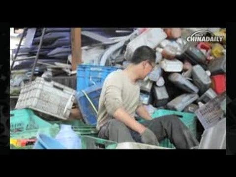 Waste recycling in Beijing