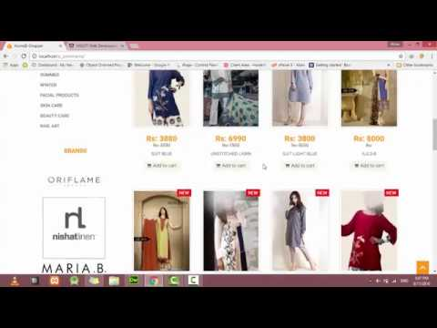 E-Commerce Website PHP Tutorial-1 | Introduction - YouTube