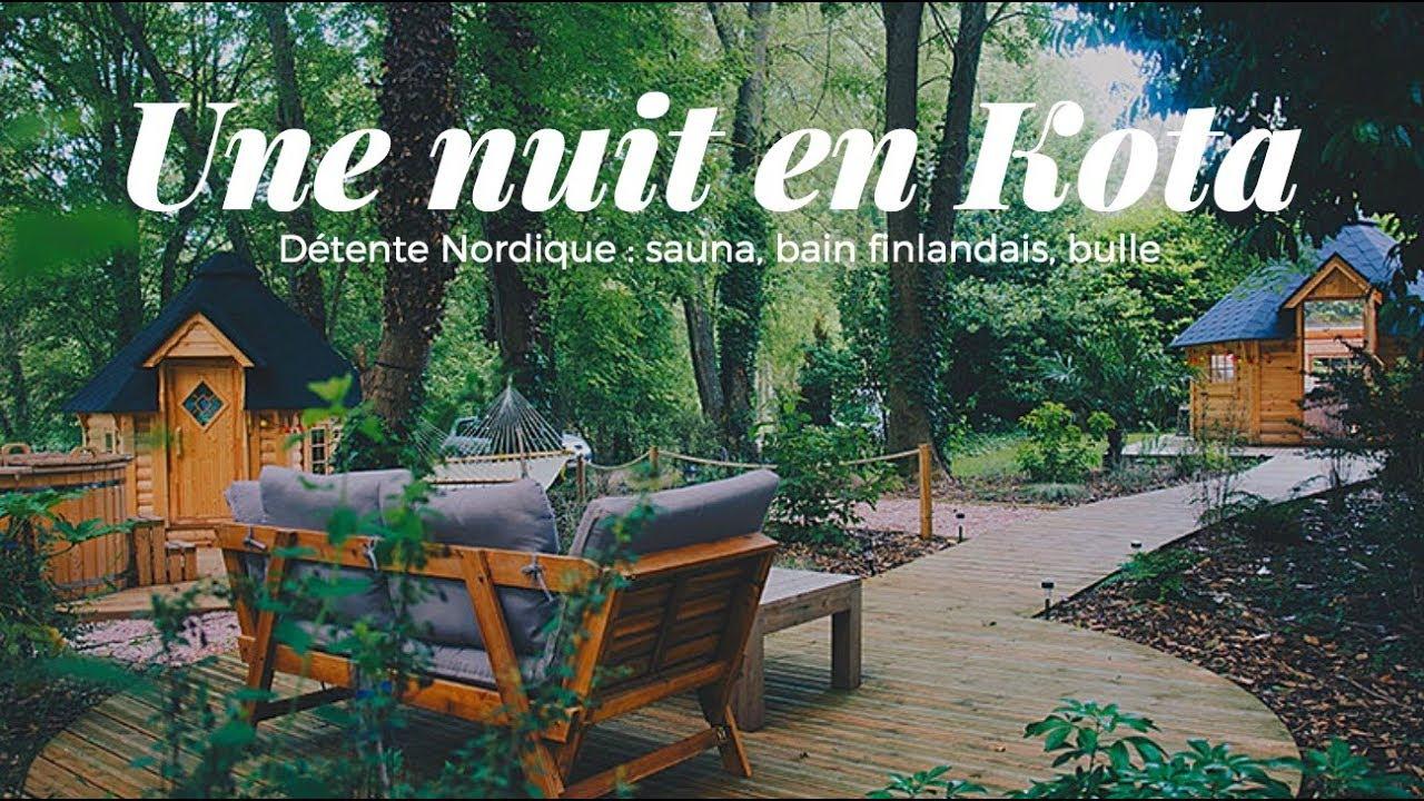 Week End Bulle Transparente Bretagne une nuit à la bulle en bois ( kota finlandais) de chantilly