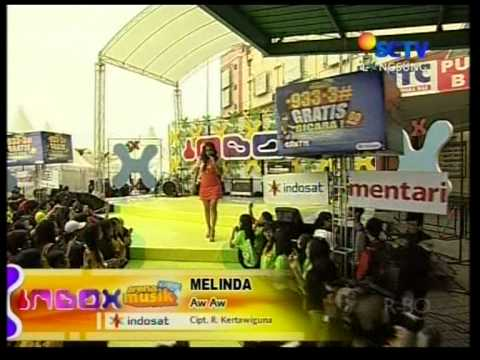 Melinda - Aw Aw,Live Performed di INBOX (03/10) Courtesy SCTV