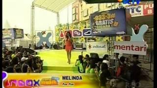 Download lagu Melinda Aw Aw Live Performed di INBOX Courtesy SCTV MP3