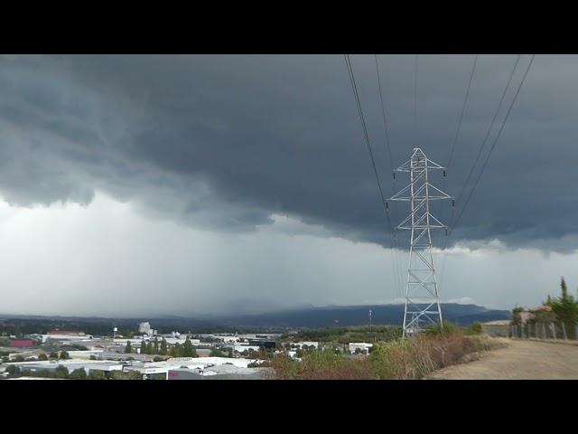 Potent tempesta a Osona - Vic - Agost 2021