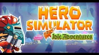 Guia Level 1-100 5minutos 8# jugardorgamer Hero Simulator Idle Adventures
