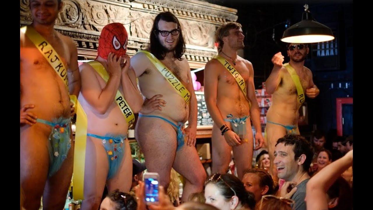 Girls in male strip club video