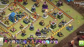 PTs Liga Guerra Cv12 x Cv12 Ataques variações de Bat e Hogs