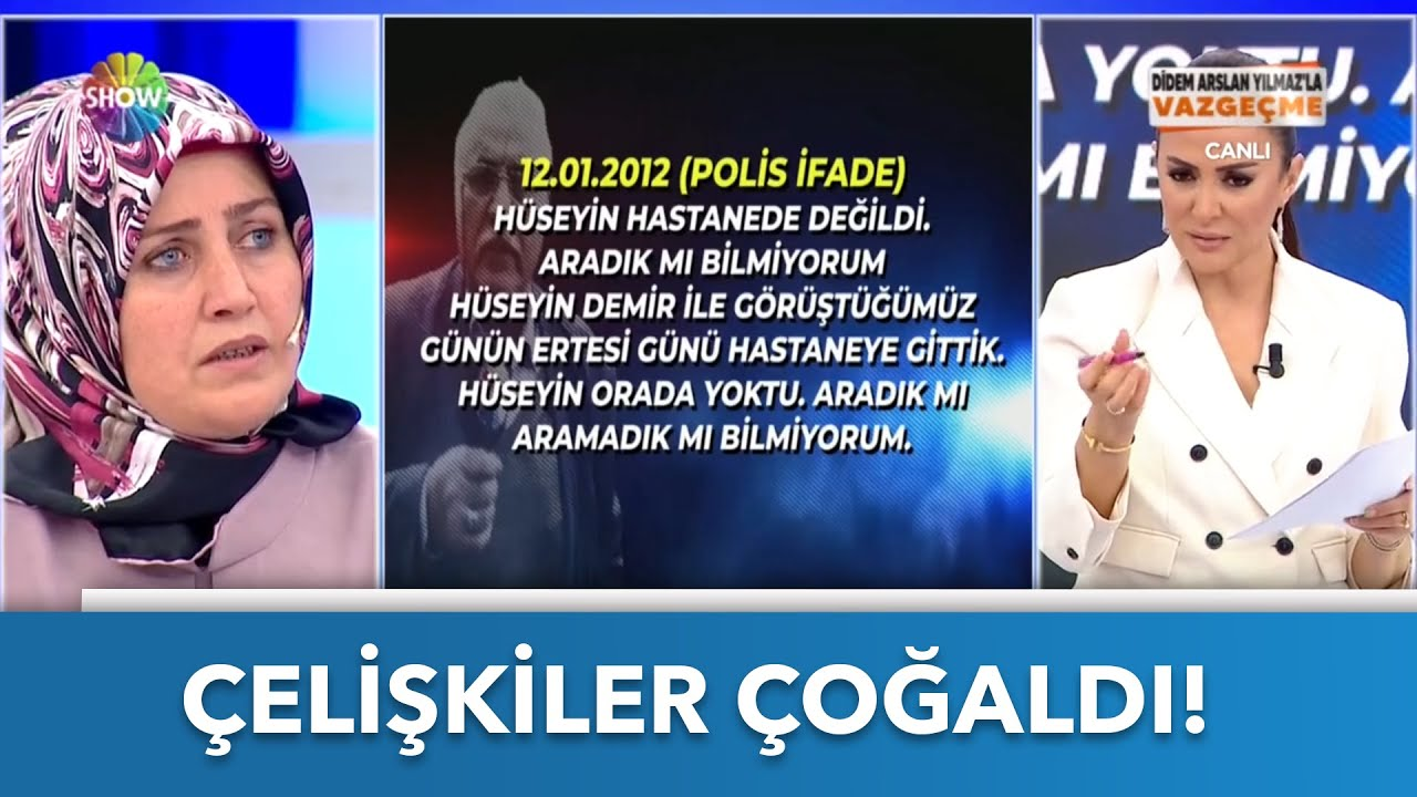 Süleyman Bey'in ifadelerindeki çelişkiler!   Didem Arslan Yılmaz'la Vazgeçme   20.10.2021