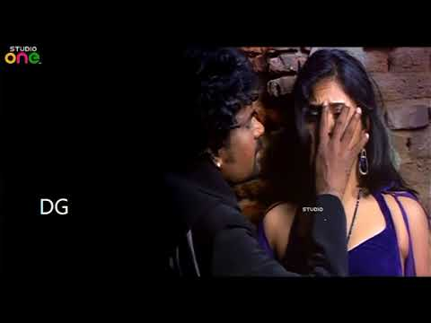 Anjali hot boob pressed and navel