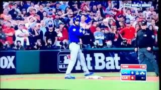 2016 World Series - Cubs VS Indians 10th Inning
