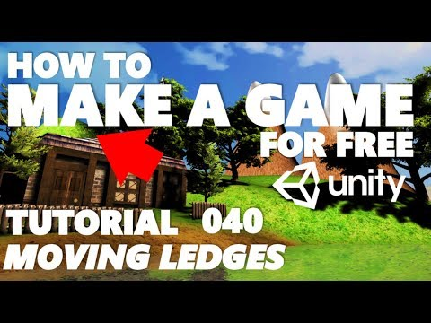 Unity Tutorial For Beginners - How To Make A Game - Part 040 - Wind Zone & Moving Ledges