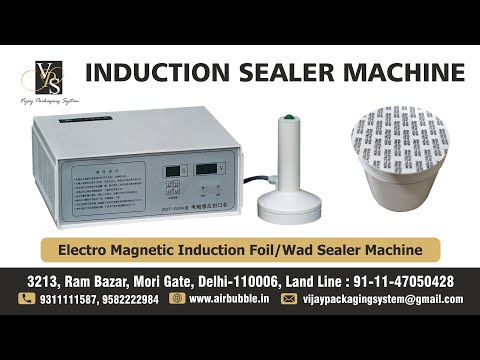 Induction Sealing Machine For Plastic And Glass Jar And Bottle Cap Foil Sealing Youtube