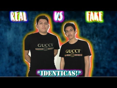 60692a77c PLAYERA GUCCI ORIGINAL DE $520 VS UNA FAKE DE $30! *IDENTICAS* - YouTube