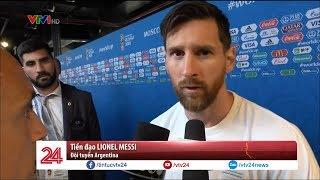 Messi nói gì sau trận hòa với ĐT Iceland | VTV24