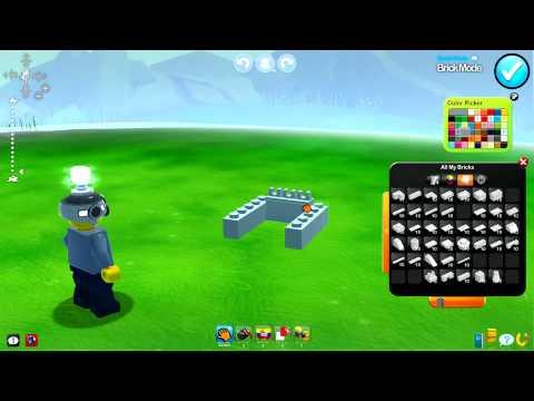 LEGO UNIVERSE - Building & Behaviours GamesCom Trailer
