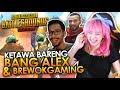 KETAWA ALA BANG ALEX - PUBG Mobile Collab #5 (FT. BANG ALEX & BREWOKGAMING)