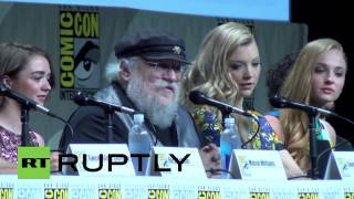 USA: George R.R. Martin defends Game of Thrones gore-fest
