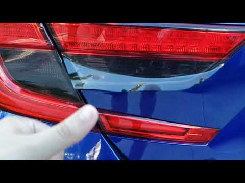 Tail Light Tints Overlay Install for Honda Accord 2018 + Discount Offer