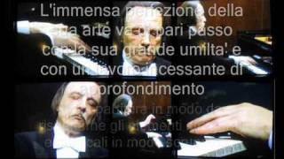 Tributo ad Arturo Benedetti Michelangeli: RAVEL piano concerto in G Major- I Tempo 1957