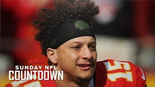 Patrick Mahomes is blazing the trail with his unique haircut | NFL Countdown