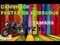 Cambiar las pastas de clutch yamaha fz 16