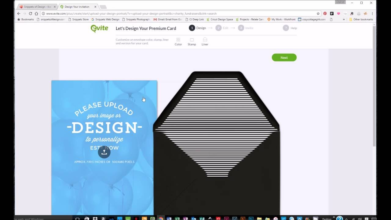 How to Create Your Own Evite Invitation and Include Donations for a
