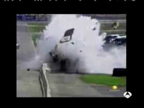 accidente mortal de NASCAR Mexico de Carlos Pardo a 220 km