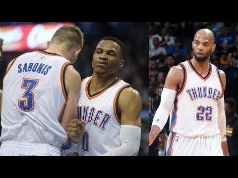 Gibson, McDermott Thunder Debut! Russell Westbrook 28th Triple Double of Season!