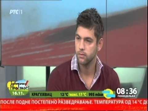 Filip Krajinović u Jutarnjem programu