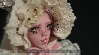 Sculpture Art Doll Lolita Bunny - Sculpture OOAK Handmade By SEM