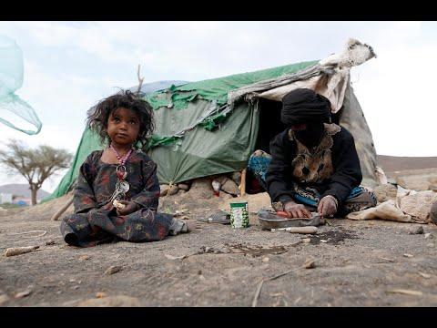 الأمم المتحدة: نحو 8.4 مليون يمني يواجهون خطر المجاعة  - 19:22-2018 / 5 / 25