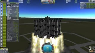 Kerbal Space Program - Insanely Huge Rockets - Munar Express