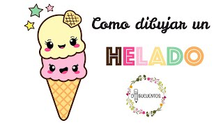 All Clip Of Como Dibujar Un Helado Kawaii Mxclip Com