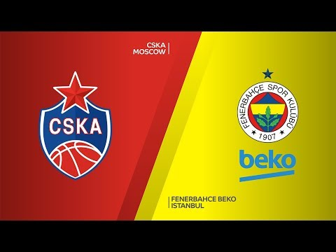 CSKA Moscow - Fenerbahce Beko Istanbul Highlights |Turkish Airlines EuroLeague,