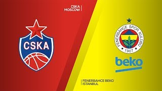 CSKA Moscow - Fenerbahce Beko Istanbul Highlights Turkish Airlines EuroLeague, RS Round 8