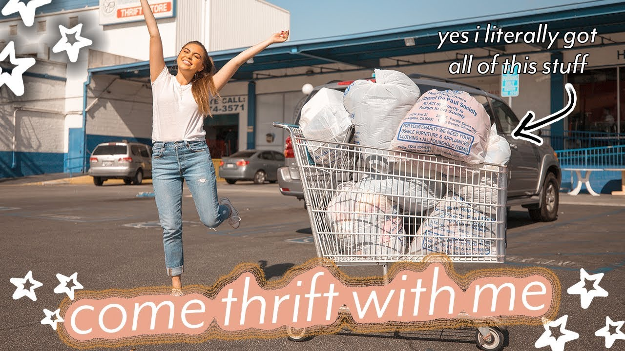 THRIFT WITH ME AT THE LARGEST THRIFT STORE IN LA ♡ 1