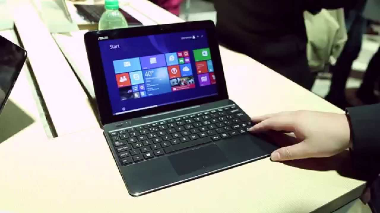 Asus Transformer Book T100 Chi Hands On Youtube