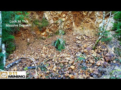 Massive Amounts Of Gold & Silver Ore Exposed At Multiple Outcrops!