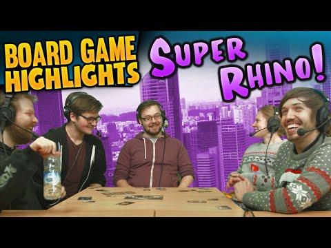 Board Game Highlights! #2 - Super Rhino: Dangerous Wobble streaming vf