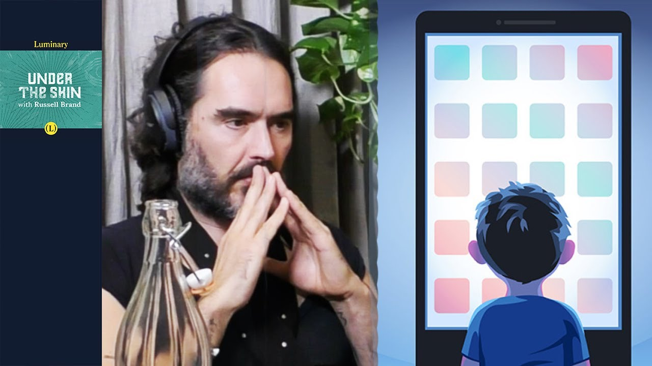 Russell Brand & Tristan Harris: Why are we hypnotised by tech?