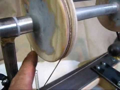 Building The Electric Spinning Wheel Youtube
