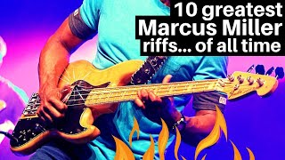 10 greatest Marcus Miller Bass Lines of all time