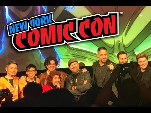 DRAGON BALL SUPER: BROLY PANEL WITH MASAKO NOZAWA!!! - New York Comic Con Vlog Friday