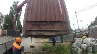 Работа крана-манипулятора Scania на стройке ч.2(, 2013-08-18T22:50:06.000Z)