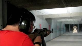 indoor range m sf xd 40    saiga ak 47 h usp 45
