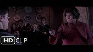 Harry Potter and the Order of the Phoenix Umbridge attempts to Crucio