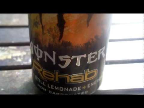 Testissä Monster Rehab Energy & Tea
